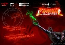 Red Frog Digital launch AR Zombie Holomaze at PrimEvil