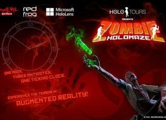 zombie holomaze