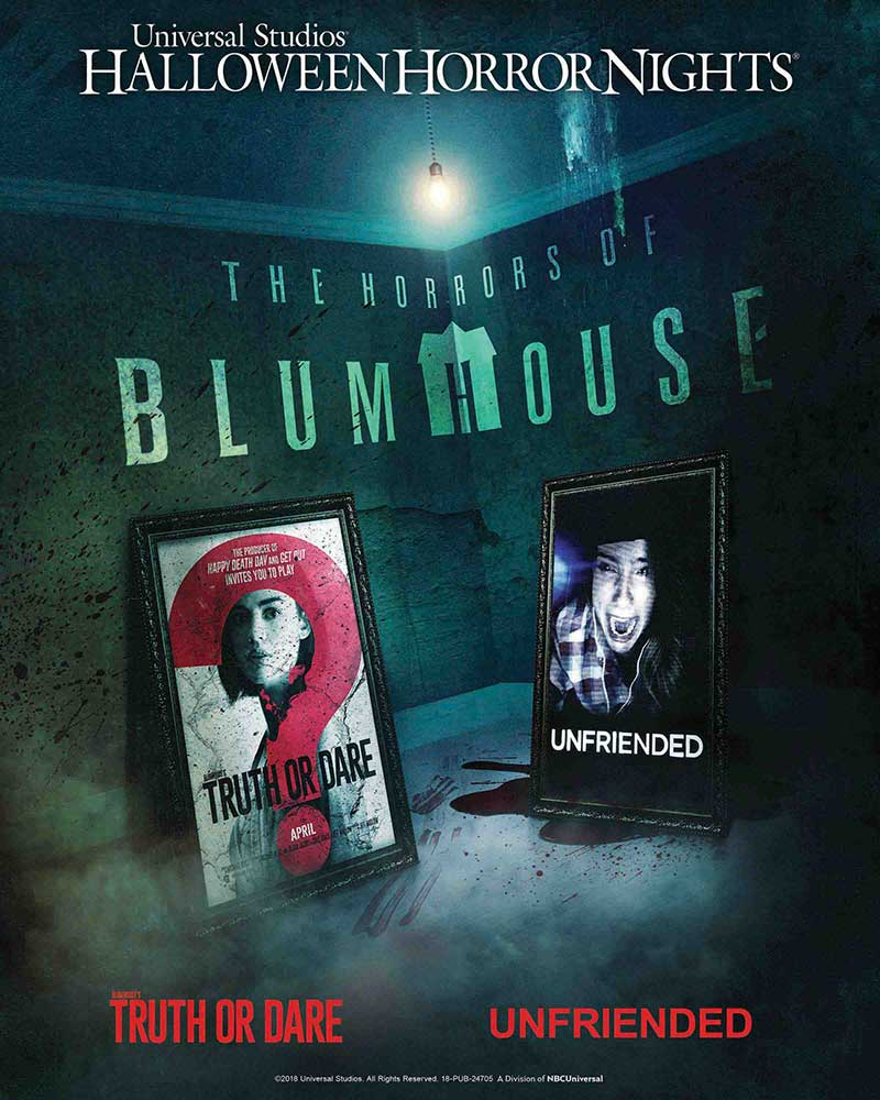horrors of blumhouse poster