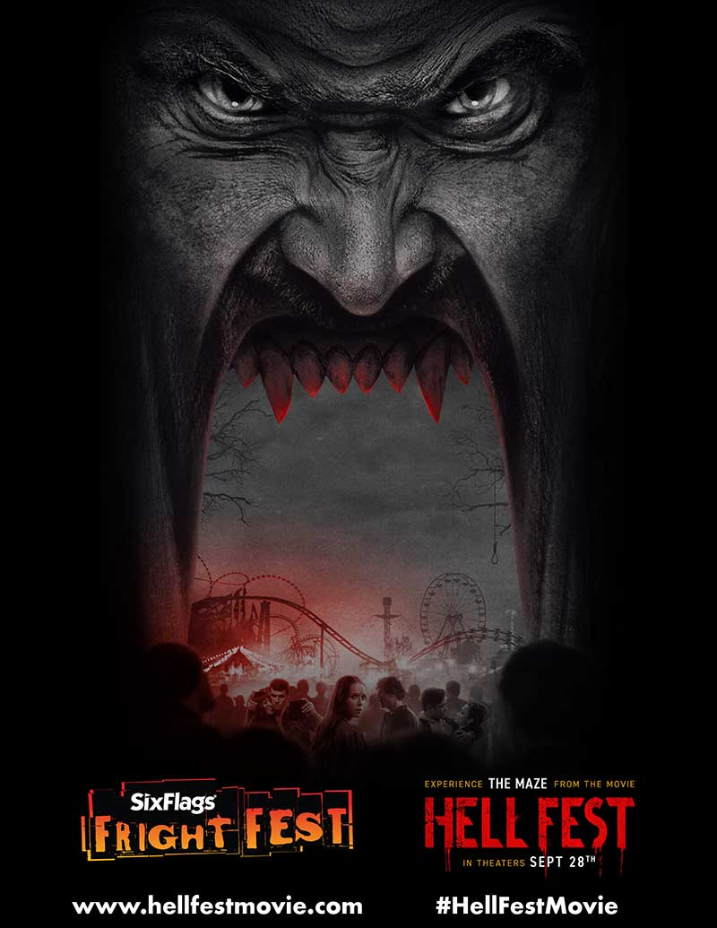 six flags fright fest hell fest