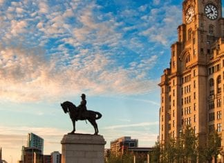royal liver building horse statue 2