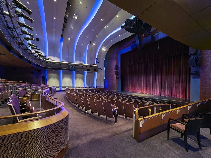 Photo of the theater at the Museum of the Bible