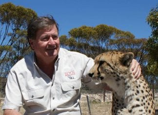 Peter Clark of Zoos South Australia Zoos SA