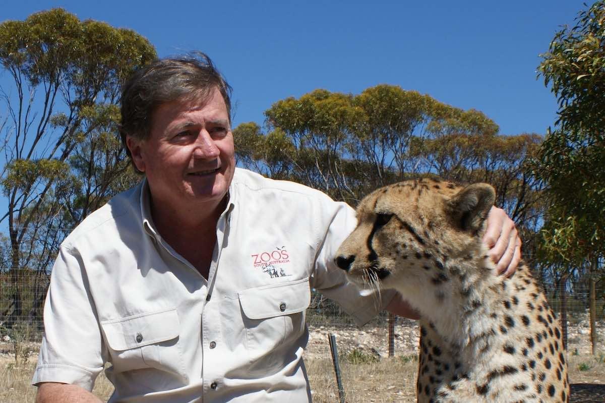 Peter Clark of Zoos South Australia Zoos SA