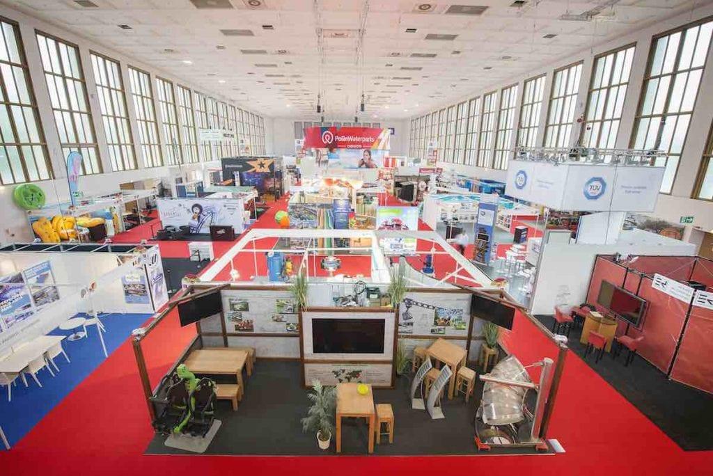 IAAPA EAS Show floor