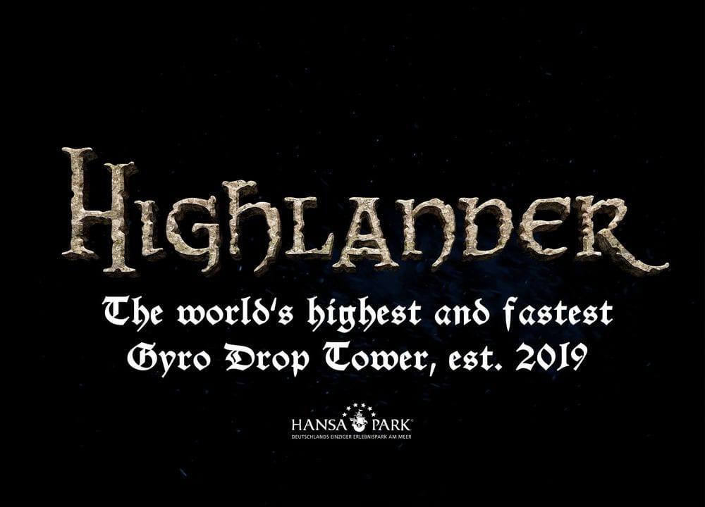 Hansa Park Highlander Logo