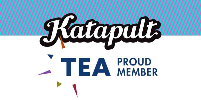katapult TEA logo - collaboration is vital to future of attractions industry