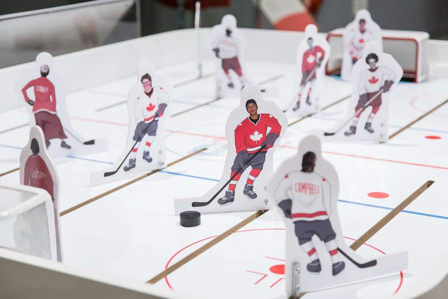 trailblazing hands-on hockey exhibit, science north