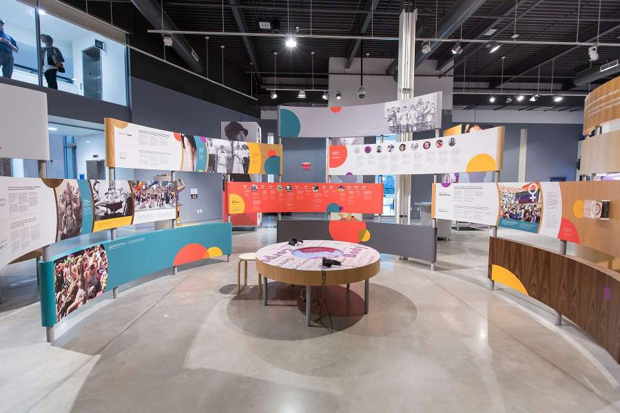 Trailblazing: Women in Canada since 1867 exhibition by science north