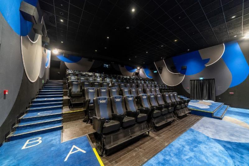 mediamation mx4d theatre at MOVIE TOWN, Hong Kong
