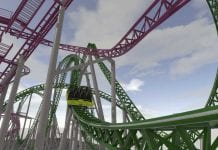 record-breaking euro-fighter launch coaster for american dream