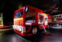 Lappset Fireman Sam engine Fantasia Works