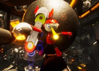 robot pinocchio from red raion vr film