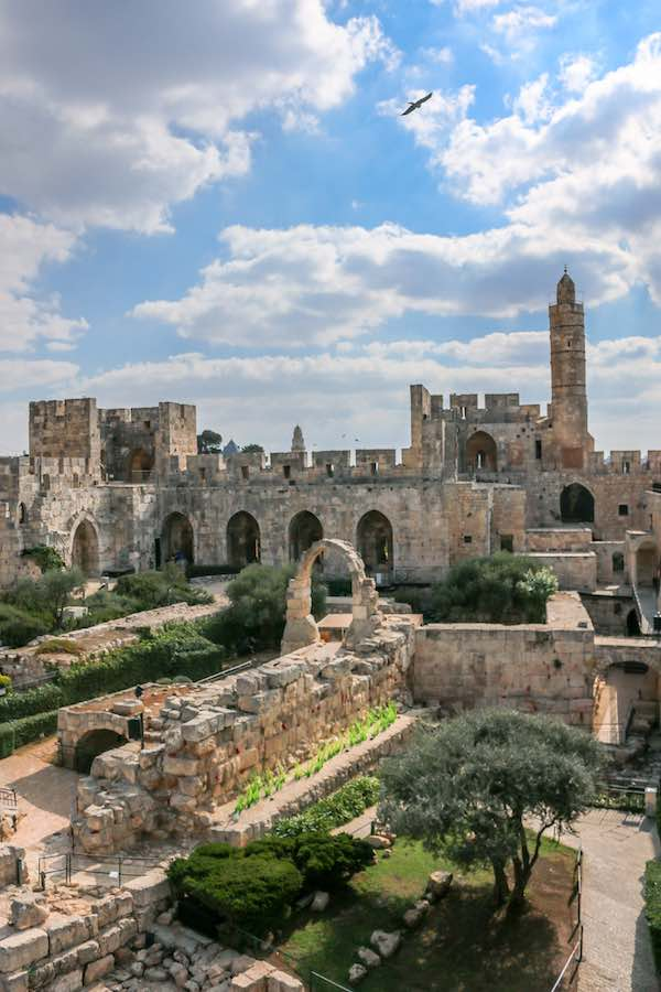 Tower of David. Credit Ricky Rachman.