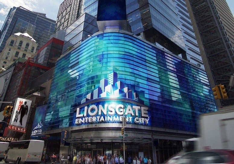 lionsgate-Entertainment-City-Times-Square-Parque-Reunidos