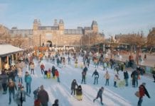 Amstersam ICE Swedice ice rink