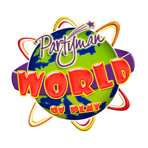 Partyman World of Play Logo