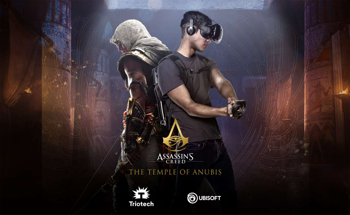 Triotech launches Assassin's Creed: The Temple of Anubis for its VR Maze attraction