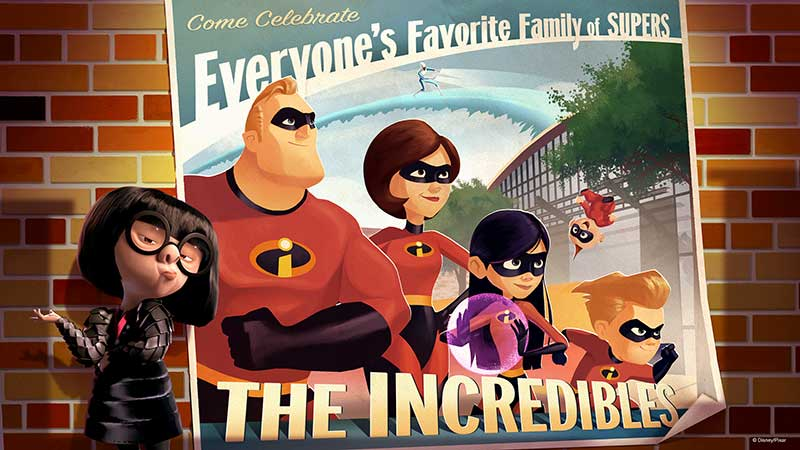 incredibles disney world