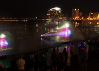 cardiff bay water show