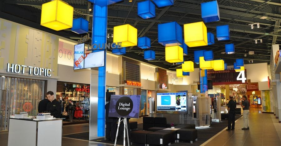 Vaughan Mills Digital Lounge, Ivanhoé Cambridge