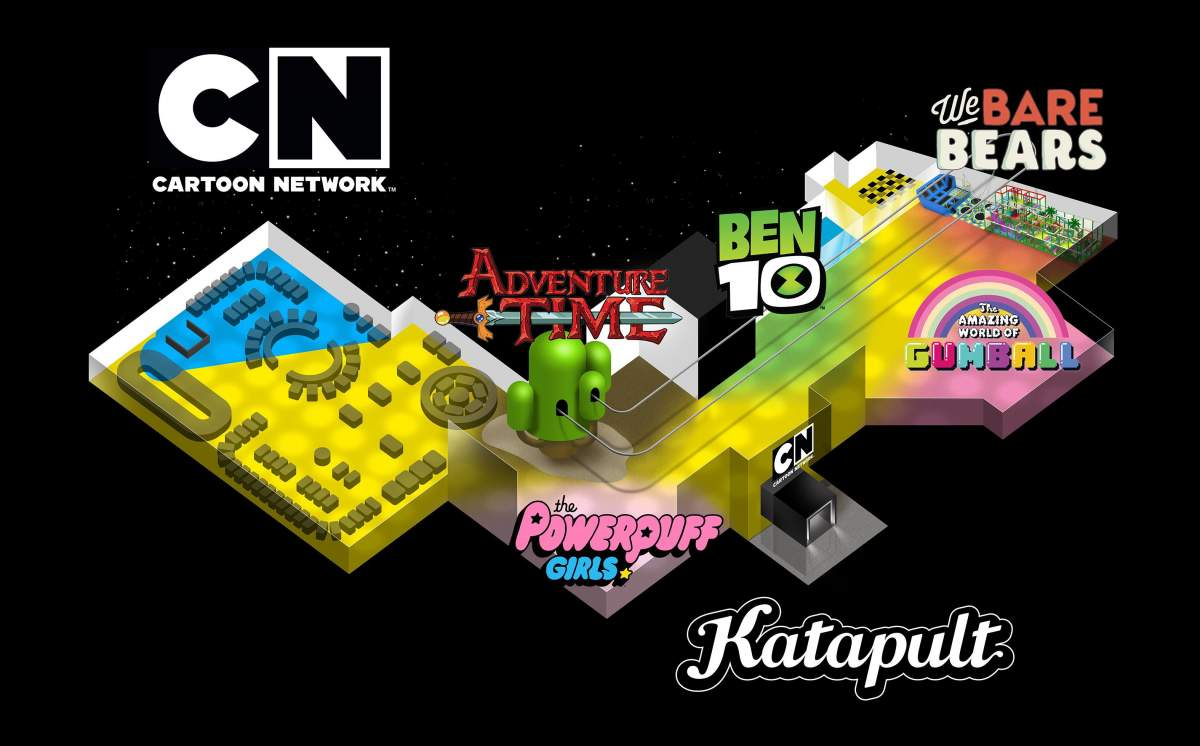 katapult and future kid create cartoon network themed attraction kuwait