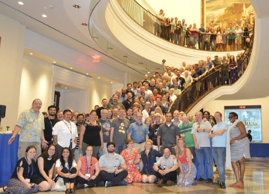 gateway staff celebrating top 100 listing - best places to work in pennsylvania