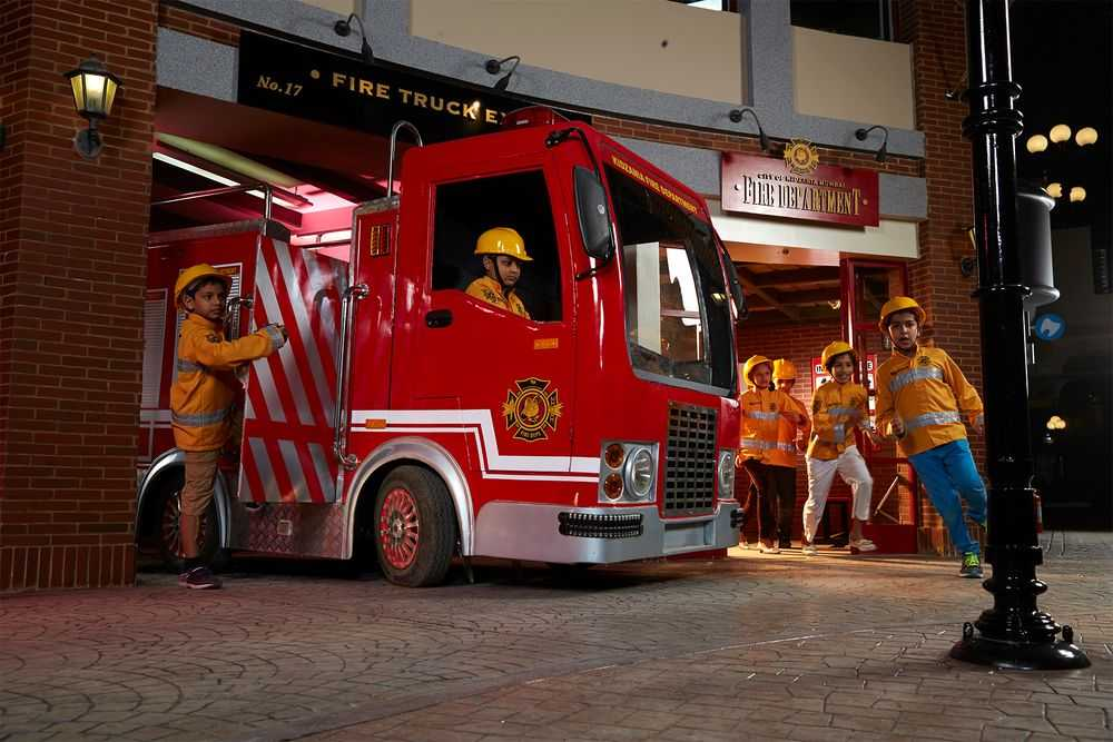 KidZania Fire Fighters