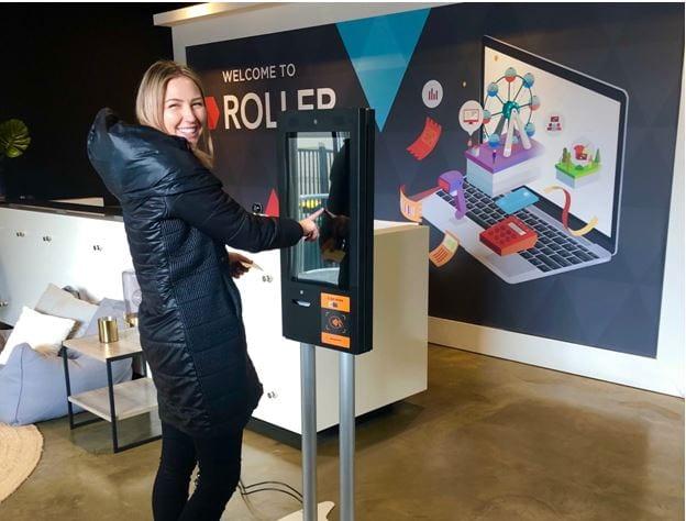roller self serve kiosk