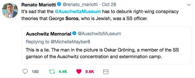 renato mariotti auschwitz museum tweet jpeg