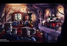 Mickey Minnie Runaway Railway Dark Ride Concept