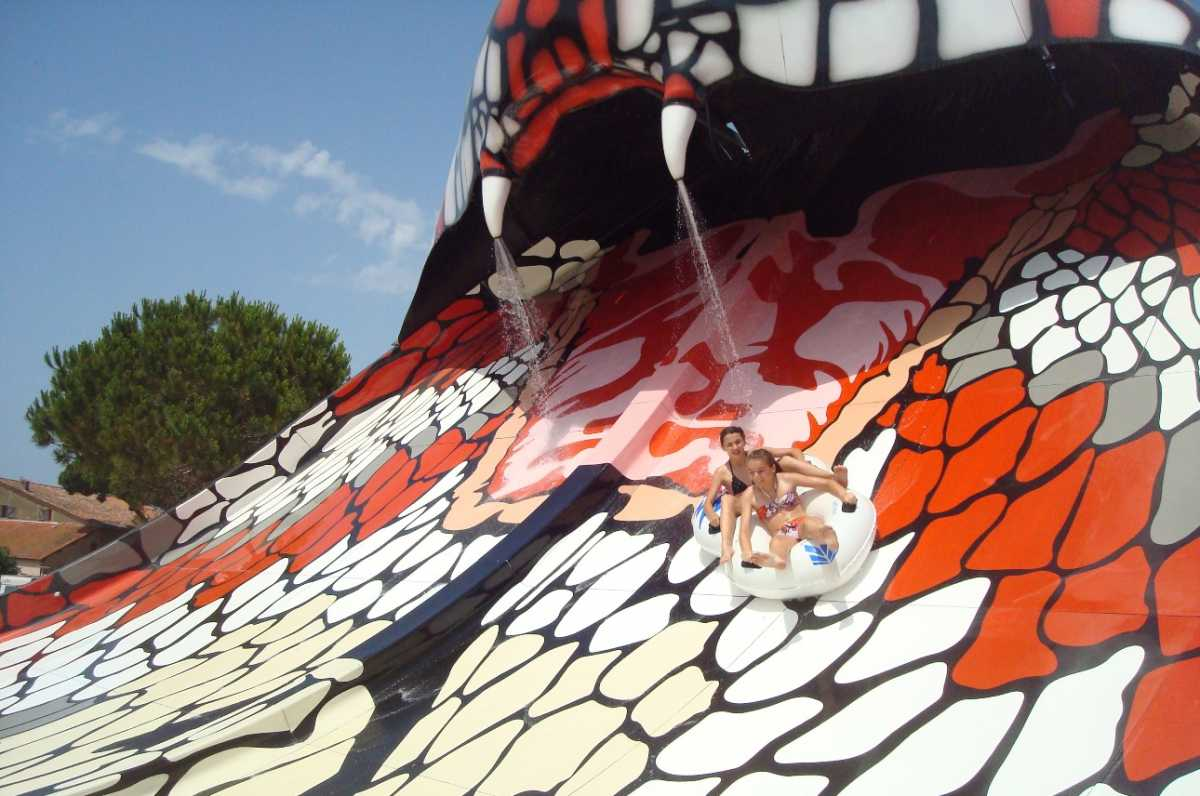 king cobra waterslide by polin waterparks