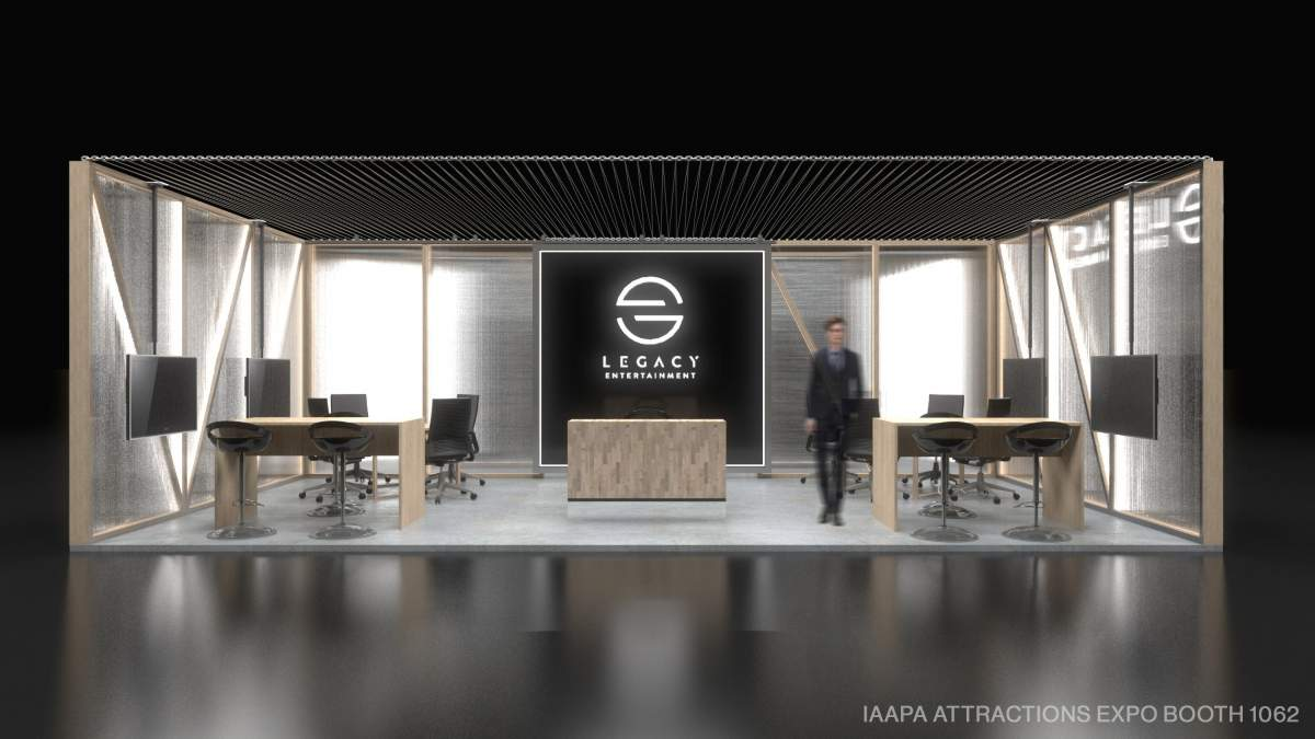 legacy entertainment booth iaapa expo 2018