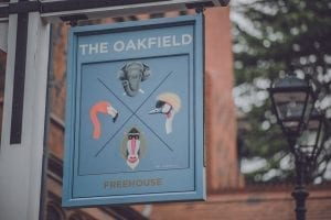 The Oakfield sign, Chester Zoo
