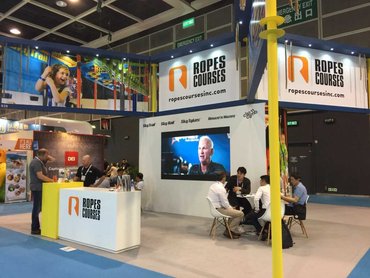 rci exhibits at AAE to target emerging markets for adventure attractions