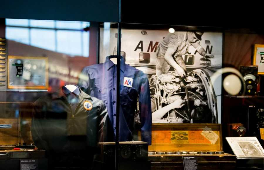 heritage exhibit at american airlines museum