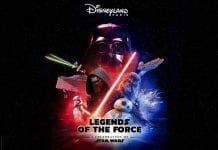 Legends of the Force Disneyland Paris poster