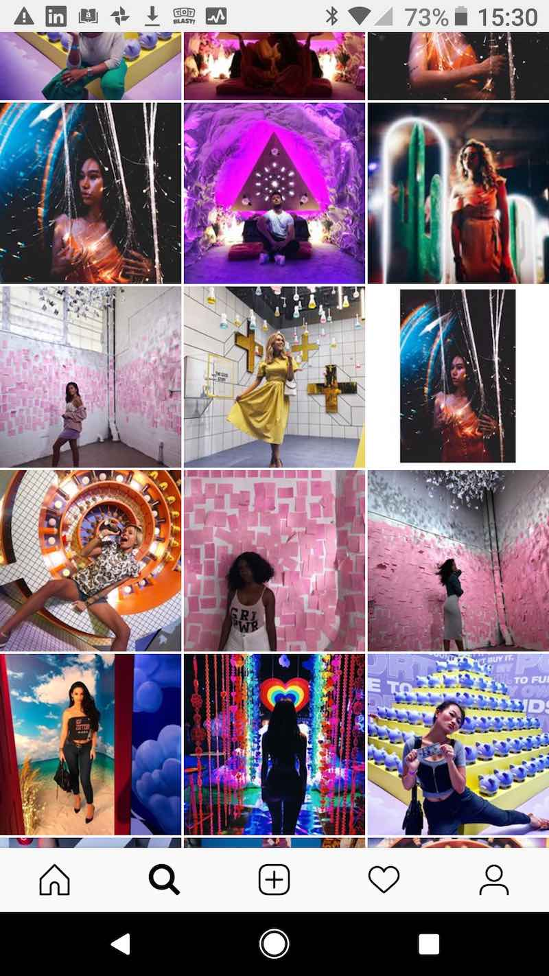 29rooms Pop-up attractions instagrammable.