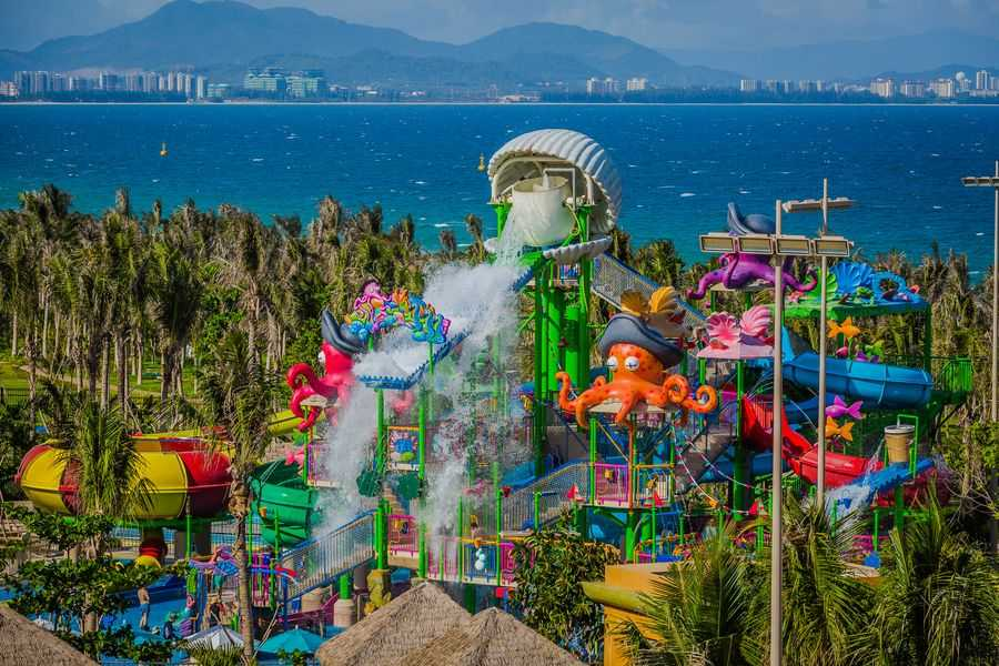 Aquaventure's Splashers play area at Atlantis Sanya is almost a mini waterpark in itself