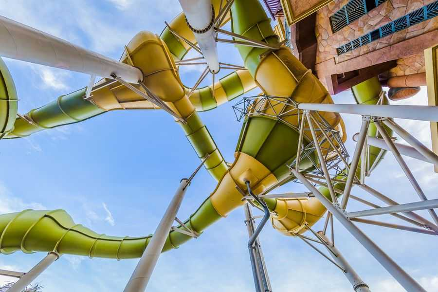 Atlantis Sanya slide tower