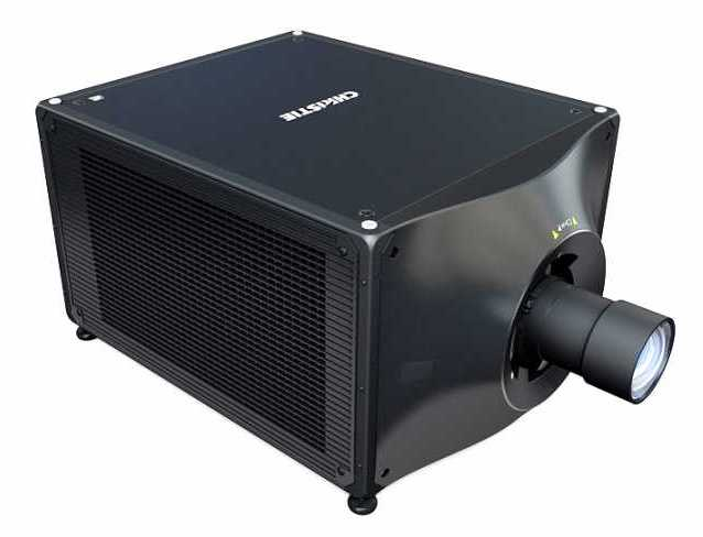 Christie D4K40-RGB smallest, lightest laser projector