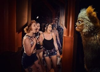Halloween horror nights the shining HHN17rhythm of fear