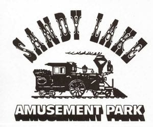 Sandy Lake Amusement Park Logo