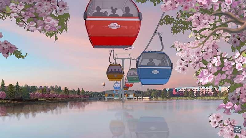 disney skyliner gondola system