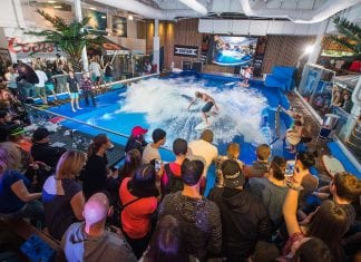 Offshore surf authentic surfing in retailtainment location based entertainment