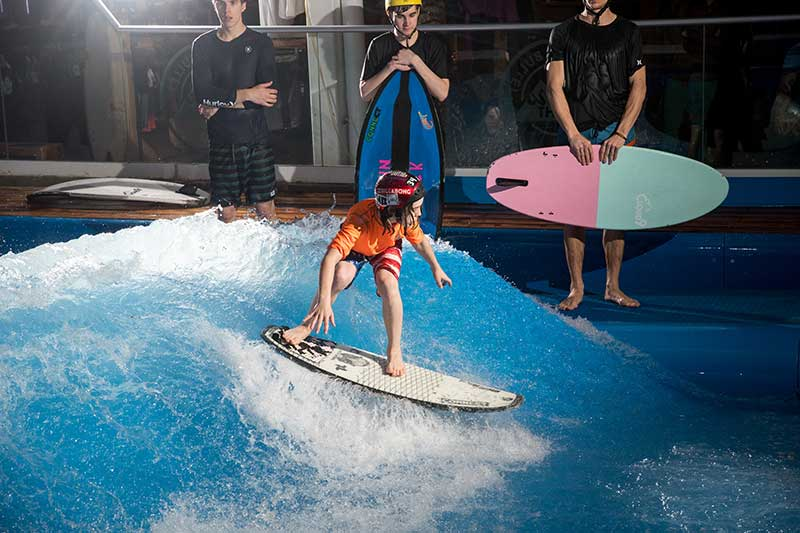 Authentic surfing retailtainment from AWM's Offshore Surf