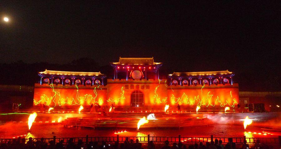Bengbu Water Show, Huanyu, Lasereffect