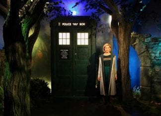 Doctor Who Madame Tussauds Blackpool Sarner