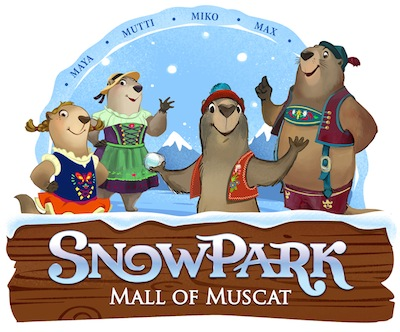 Unlimited Snow Park Mall of Muscat