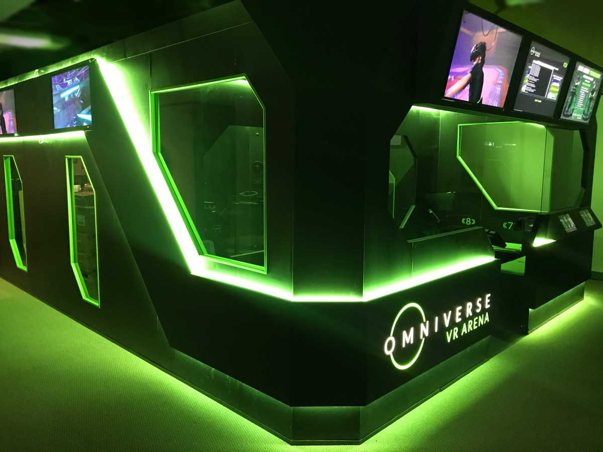funovation and virtuix launch omniverse VR Arena esports attraction